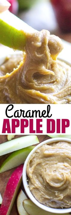 This is the Caramel Apple Dip recipe of your childhood, the one made with cream cheese, sugar, vanilla. Make a giant batch because people go crazy for it!