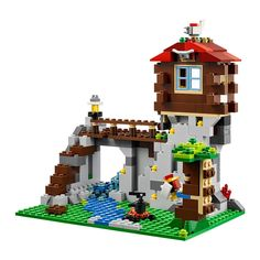 LEGO Creator 31025: Mountain Hut: Amazon.co.uk: Toys & Games