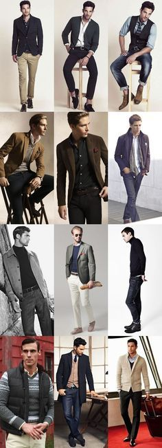 Men's Smart-Casual Outfit Inspiration - lots of great looks here! Fashion Moda, Sport Fashion, Mens Fashion, Travel Fashion, Fashion 2016, Trendy Fashion, Sport Chic, Sport Casual, Sport Style