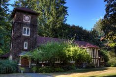 Fairbridge Chapel, Cowichan Station, Cowichan Valley, Vancouver Island