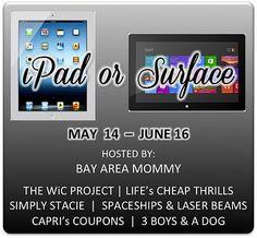 May iPad/Surface Giveaway
