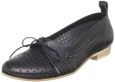 swedish hasbeens oxford ballet flats!  in black...