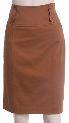 Nueva Colección Otoño Invierno 2012 Falda cuatro botones y pespunte Modest Dresses, Modest Outfits, Skirt Outfits, Skirt Pants, Dress Skirt, Cigars And Women, Fashion Outfits, Womens Fashion, African Fashion