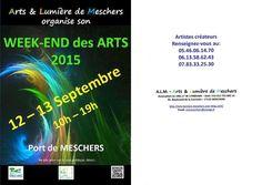 Week-end des arts de Meschers sur Gironde 12 et 13 septembre 2015