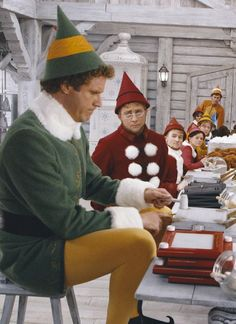 """Face it, I'm a cotton-headed ninny muggins."" --Elf"