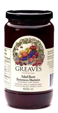 Greaves Salad Beets Greaves Jams and Marmalades Holiday Rentals, Marmalade, Beets, Salad, Homemade, Recipes, Food, Home Made, Essen