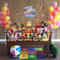 A animação infantil brasileira mais querida do momento virou tema de aniversário. Veja ideias para decorar a Festa Mundo de Bita.