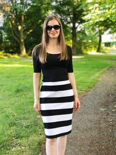 snelle gemakkelijke rok patroon en passend tekenen volgens jouw maat Tricot rok.
