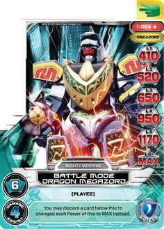 Dragon Megazord Power Card