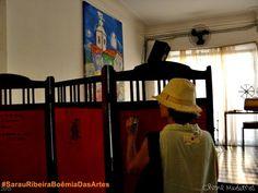 #SarauRibeiraBoemiaDasArtes em #NalvaMeloCafeSalao, Ribeira, Natal/RN