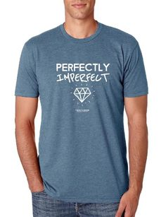 Perfectly Imperfect - Gents Crew Neck Fitted