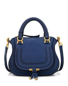 Marcie Mini Shoulder Bag, Royal Blue by Chloe at Neiman Marcus.