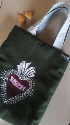 Trachten Lodentasche von LizSabGraz auf Etsy Reusable Tote Bags, Vintage, Handmade, Etsy, Fashion, Graz, Craft Gifts, Bags, Schmuck
