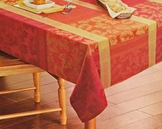 "Harvest Season Fabric Seasonal Splender Tablecloth and 6 Placemats 60""x84"" Oblong Harvest Season http://www.amazon.com/dp/B016BQ2YO6/ref=cm_sw_r_pi_dp_Yxzgwb0TCE9HQ"