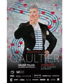 Jean Paul Gaultier  exposition du 1er avril au 3 août 2015 au Grand Palais à Paris.