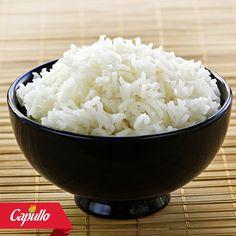Si quieres que el arroz quede blanco como la nieve agrégale un chorrito de vinagre durante su preparación. #TipCapullo