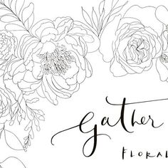 I remember once entering a Joules competition for a 4x4 with their florals printed all over it. I think most cars are boring to look at so loved this idea - I never won, & so a floral car still remains on the wish list...... When @gatherandbloom asked if I could design an illustration for her work vehicles it was a definite YES, YES, YES!! 💕💕 It's been such a pleasure, I will miss working on such gorgeous florals - thank you Caroline XX . #peoniesandpaperclips