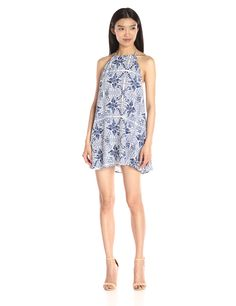 Show Me Your MumuWomen's Katy Halter Printed Dress