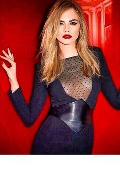 Cara Delevingne YSL Beauty 2014