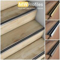 Best Aluminium Stair Nosing For Lino Lvt Thin Tiles 2 7M 400 x 300