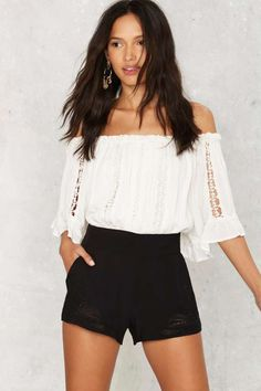 Paisley Up Embroidered Shorts - Sale: Newly Added   Sale: 20% Off   Festival Shop   Shorts   High Waisted
