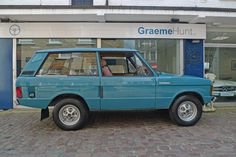 1971 Range Rover Classic 'A' Chassis series | Motor Cars For Sale | Graeme Hunt Ltd.