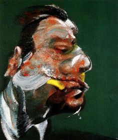 Study for Head of George Dyer, Francis Bacon. One of my favorite artists.