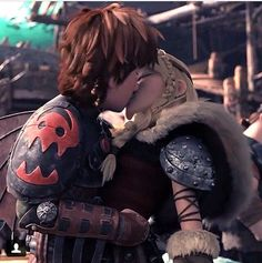 """Hiccup - """"Come here, you!"""" <3 :) ;)"""
