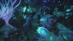Bioluminescence - James Cameron's Avatar Wiki - Sam Worthington, Zoe Saldana
