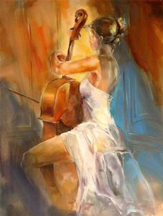 #Arte #Pintura by Anna Razumovskaya.