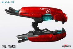 Halo 2 Anniversary Edition Brute Plasma Rifle Full Scale Replica