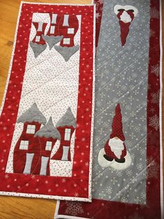 Best Photos Sewing Table runners Suggestions Stitching should experience content, productive as well as completely while in the zone. What it wi Quilted Table Runners Christmas, Christmas Patchwork, Christmas Quilt Patterns, Christmas Runner, Table Runner And Placemats, Table Runner Pattern, Christmas Quilting, Quilting Projects, Sewing Machine Projects