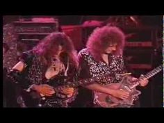 #GuitarLegends - 1992 . Brian May, Joe Satriani, Steve Vai, Joe Walsh, Nuno Bettencourt, Paul Rogers. October 19.1991 Sevilla, Spain