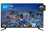 """Smart TV LED 65"""" Samsung 4k/Ultra HD Gamer - UN65JU6000 Wi-Fi 3 HDMI 2 USB"""