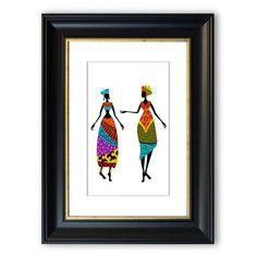 Kunst erotische Straße große afrikanische Frauen nackt