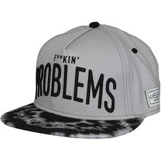 Cayler & Sons F-King Problems Cap grey/black ★★★★★
