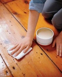 Nontoxic ways to refinish wood floors #refinishingfloors #hardwoodflooring