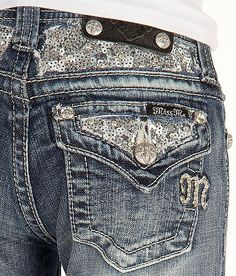 Girls-Miss Me Straight Jean - Girl's Jeans | Buckle