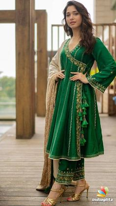 pcs Tunic Green Vacation Dresses Vintage Polyester Spring Long Sleeve Maxi Summer A-line Dress Floral V-Neckline S M L Tassel XL XXL Dress Simple Pakistani Dresses, Pakistani Dress Design, Indian Dresses, Indian Outfits, Pakistani Fashion Party Wear, Pakistani Outfits, Designer Party Wear Dresses, Kurti Designs Party Wear, Velvet Dress Designs