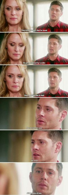 I cannot believe they actually voiced my hatred of Mary Winchester!!! I can not believe that he actually acknowledged his hatred of his mother!!!! I love it! But in true Dean fashion, he is able to forgive her. I can normally follow him, but this one is going to take me a lot longer. I think it works so well with Sam, because he is actually a little apologetic though!