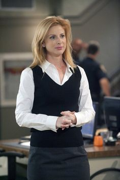 Diane Neal as A.D.A Casey Novak. I didn't like her at first, but now I love her. She's no nonsense and rule following like Alex and has intense passion, that sometimes gets her in trouble with her bosses and in court! She's great. Very sexy, deep voice...