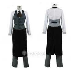 Tokyo Ghoul Ken Kaneki Touks Work Clothes Cosplay Costume $61.99 - Anime Cosplay Costumes - Trustedeal.com