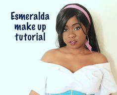 Esmeralda cosplay makeup tutorial