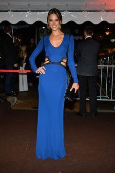 2013 - Alessandra Ambrosio in Roberto Cavalli