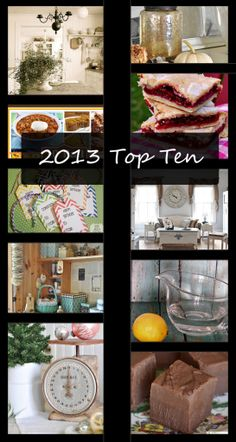 2013 Top Ten Posts - Live Creatively Inspired