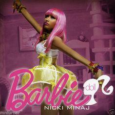 "Nicki Minaj -""BARBIE"" - Mixtape CD"