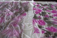 Pintar pañuelo seda (técnica arrugado) aplicación de color. En el interior más técnicas