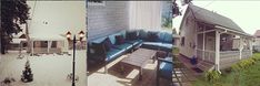 Outdoor Sectional, Sectional Sofa, Outdoor Furniture, Outdoor Decor, Sd, Workshop, Projects, Home Decor, Log Projects
