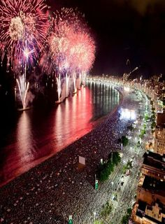Réveillon Copacabana RIO Brazil