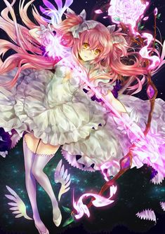 Madoka-Chan will destroy every witch ever created with her own hands.